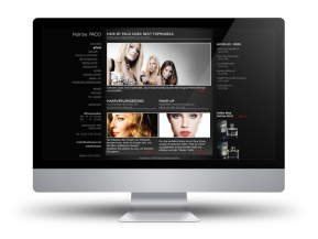 Webseite - Hair by PACO -