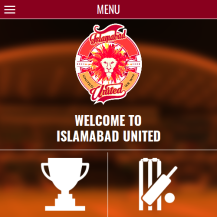 Islamabad United (Mobile app)