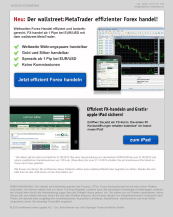 wallstreet:MetaTrader effizienter Forex handel!