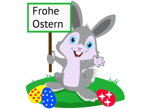 Frohe Ostern- Osterhase