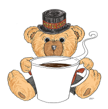 Illustration Sacher Teddy