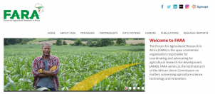 Website for Agricultural Research Forum