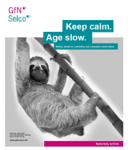 Keep calm. Age Slow.