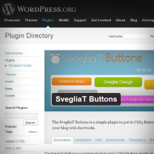 SvegliaT Buttons - Wordpress plugin