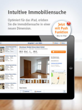 Immobilienscout24 iPad-App